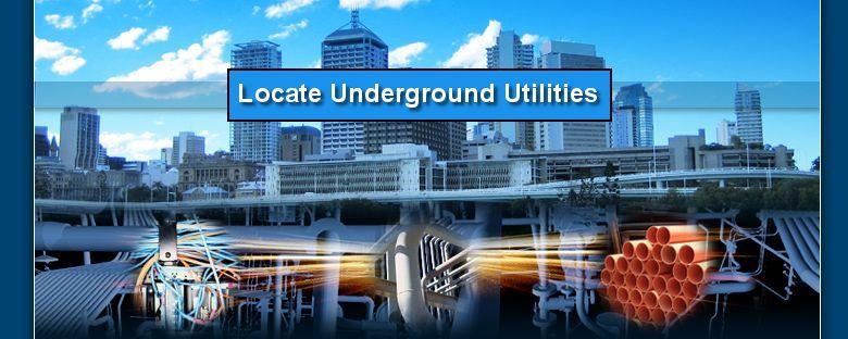 Locate underground utilities